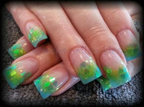 aqua acrylic nails aqua lime green acrylic nails karathenailgoddess