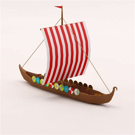 How To Make A Viking Longship Out Of Paper - viking ship 3ds