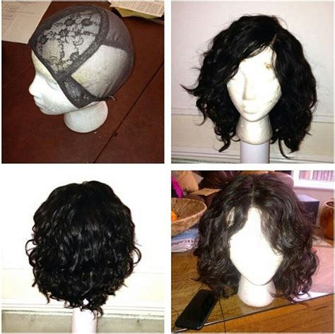 step by step tutorial on seeing curly weave 12 best images about d i y wig making on pinterest