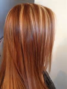 Red hair blonde hair blonde highlights red strawberries red blonde