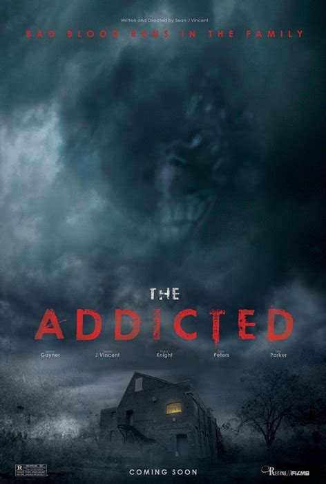addicted official trailer from the english movie addicted the addicted gets a creepy fan made poster geektyrant