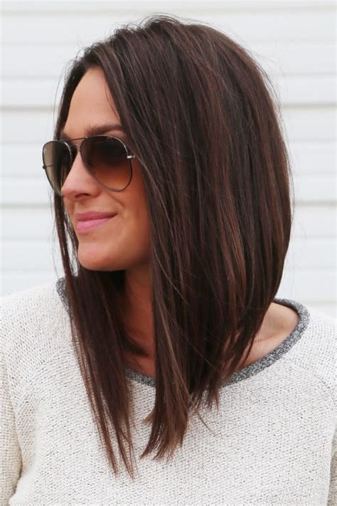 Long Bob Angled Hairstyles Graduated Layers | 25 best ideas about long graduated bob on pinterest