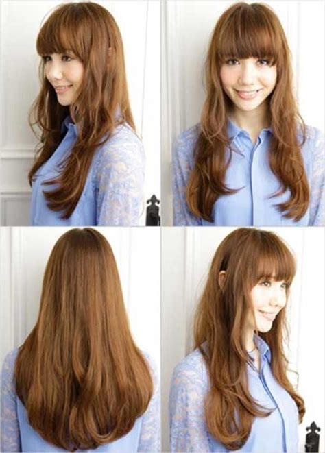 trendy layered hairstyles in seoul 2018 latest long layered hairstyles korean