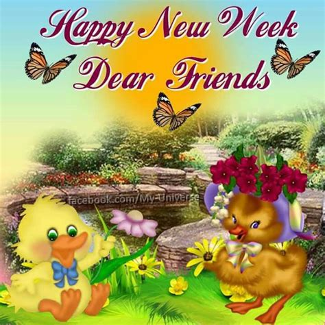 happy week images happy new week dear friends pictures photos and images
