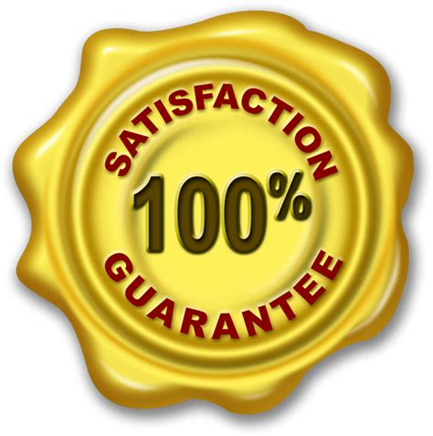 satisfaction guarantee wax seal psd png graphicsfuel