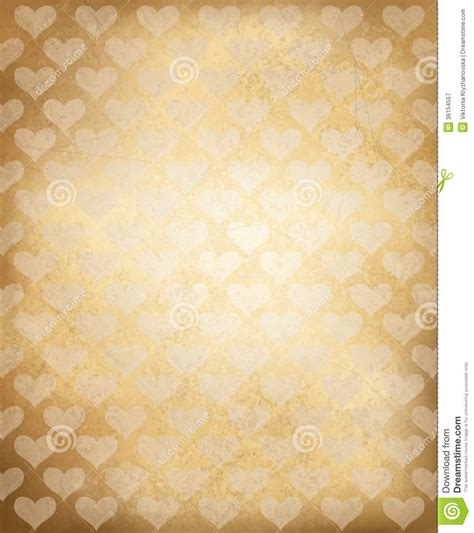 adobe illustrator paper texture pattern vector old paper texture with heart pattern royalty free