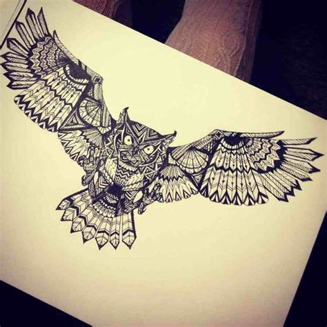 tattoo owl wings pinterest the world s catalogue of ideas