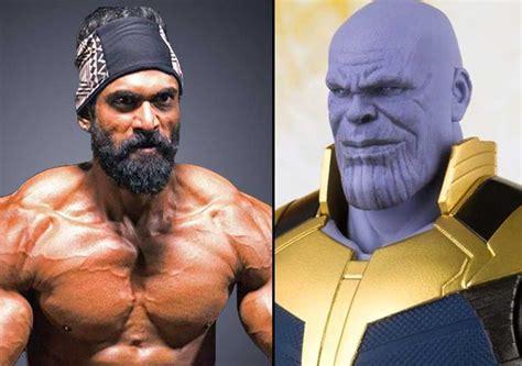 actor of thanos rana daggubati joins the avengers team lends his voice