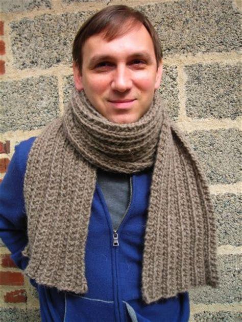 mens knit scarf pattern montana s scarf pattern knitting bee