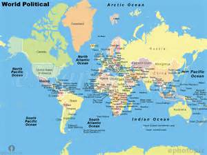 Political Map Of World by Gallery For Gt World Map Political