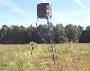 Red Neck Hunting Blinds Ameristep 15 Foot Deer Stand Hunting Tripod Youtube