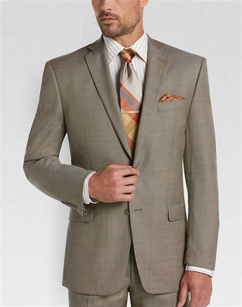 Mens Wear House by Calvin Klein Sharkskin Slim Fit Suit S Slim Fit