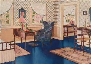 1920s home interiors 1920s bedrooms vintage decorating color finishes