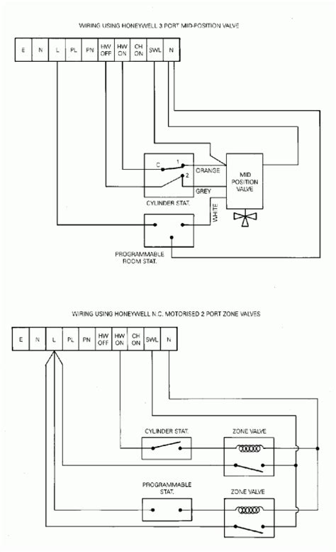 rayburn cookers with central heating timer wiring diagram