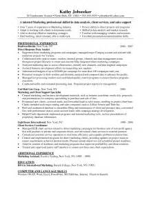 Database Marketing Analyst Sle Resume by Data Analyst Resume Sle Getessay Biz