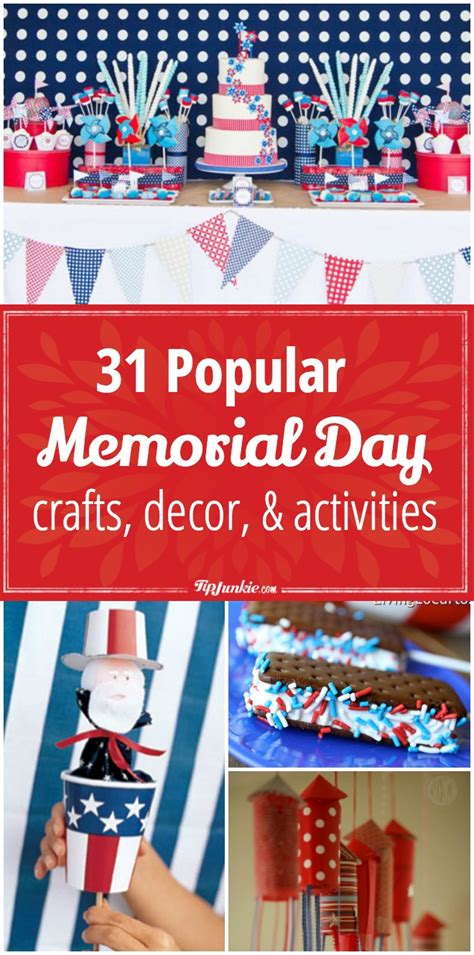 memorial day crafts for 31 popular memorial day crafts decor and activities for