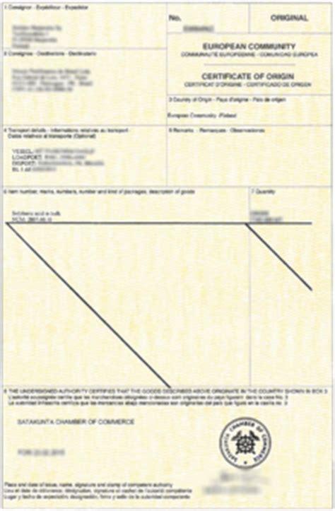 certificat d origine chambre de commerce certificat d origine wikip 233 dia