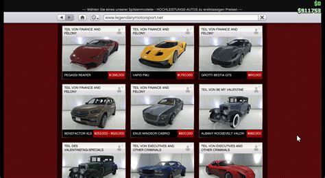 Gta V Teuerste Autos by Gta 5 Online Die Neuen Fahrzeuge Des Updates Sind Chic