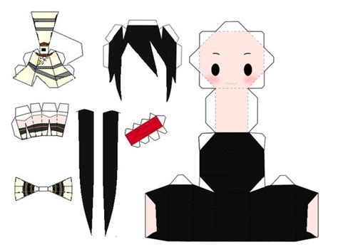 Soul Eater Papercraft - 31 best images about papercraft projects on