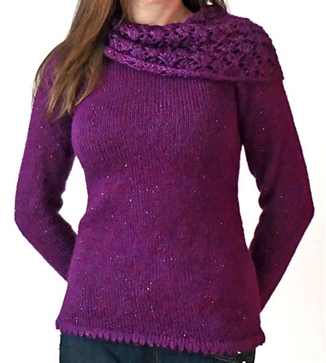 cowl neck knitting pattern sweater 10 cozy cowl neck sweater knitting patterns