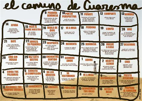 Calendario De Cuaresma Como Hacer Un Calendario De Trabajo