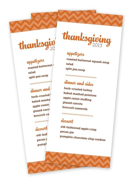 printable thanksgiving dinner planner printable thanksgiving menu templates for free happy