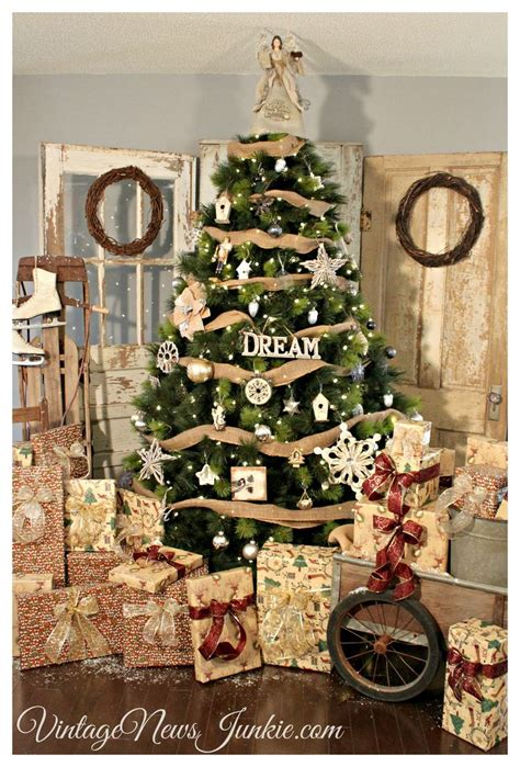 Christmas Decorating Ideas For The Home Our Vintage Inspired Holiday Home Tour