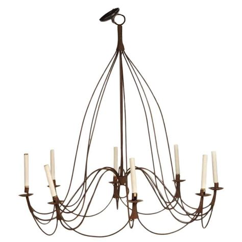 Rustic Chandeliers For Sale Large Rustic Provincial Eight Light Chandelier For Sale At 1stdibs