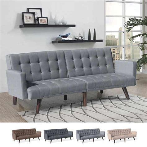 divano letto in tessuto divano letto reclinabile 3 posti in tessuto eliodoro