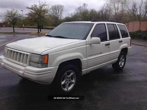 sport jeep grand cherokee 1998 jeep grand cherokee 5 9 limited sport utility 4