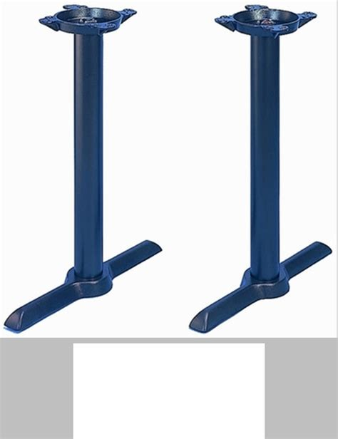 Html Table 2 Columns Tb 105 Cast Iron Standard Column Table Base With 2