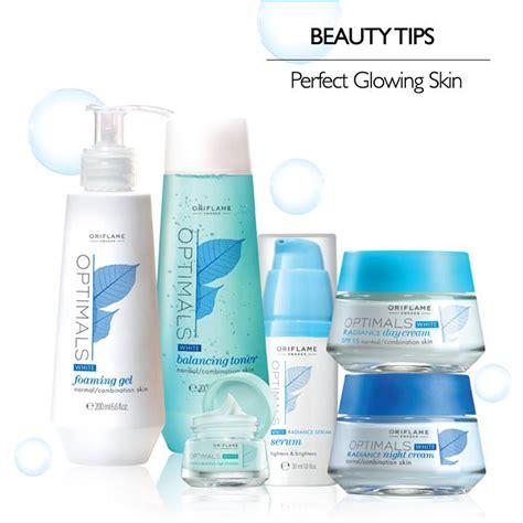 Optimal Skincare Oriflame jual paket perawatan kulit oriflame optimals white radiance skin set shop terpercaya