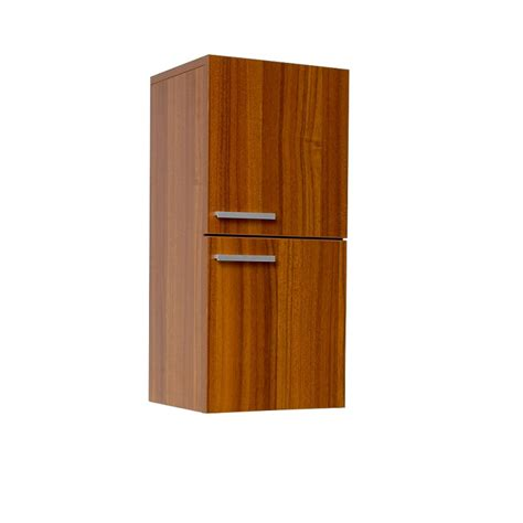bathroom linen side cabinet fresca teak bathroom linen side cabinet w 2 storage areas