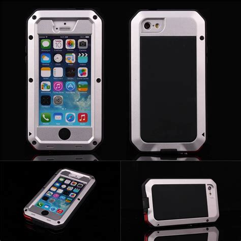 Iphone 5 5s 5g Transcover Shockproof Iphone5 5s 5g Shockproof aluminum gorilla glass metal cover for iphone 5 5s 5g