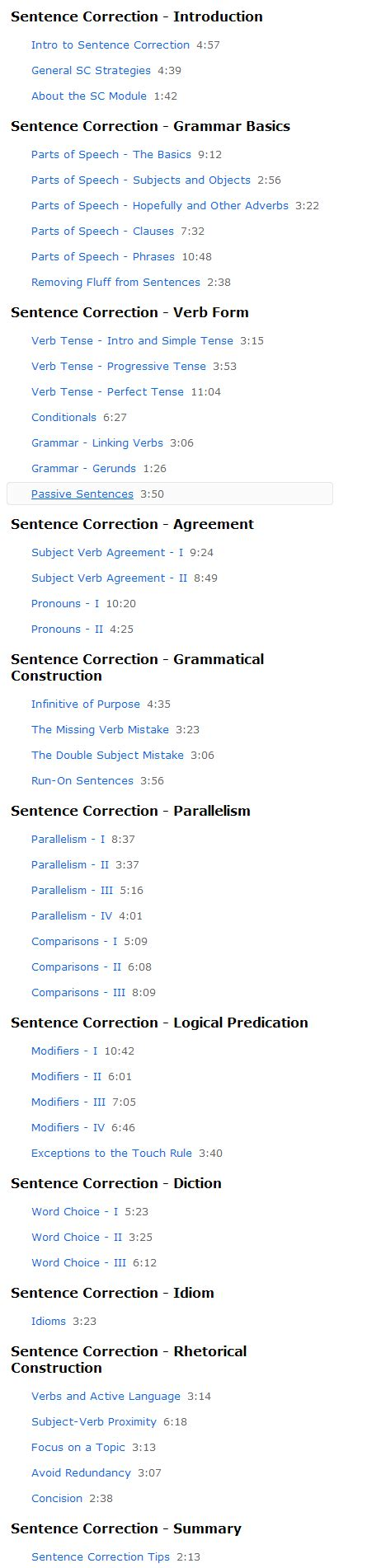 Sentence Correction Mba Cet by Restructuring Magoosh Sentence Correction Magoosh Gmat