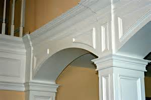 Handcrafted Millworks - pin custom millwork casing and base crown moulding radious