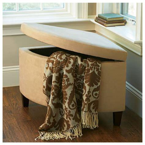 corner ottoman corner storage ottoman transitional footstools and
