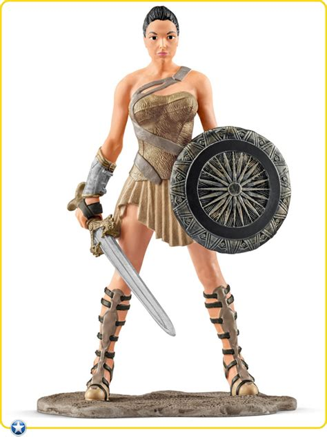 amazon wonder woman schleich dc comics wonder woman movie pvc figurine 18