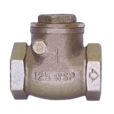 bronze swing check valve buck algonquin 00scv125 bronze swing check valves