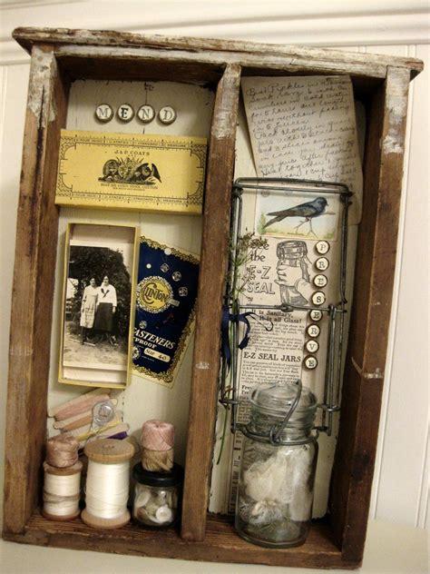 Papier Peint Cabinet De Curiosité by Vintage Trifles New Trifles Memory Boxes Vintage