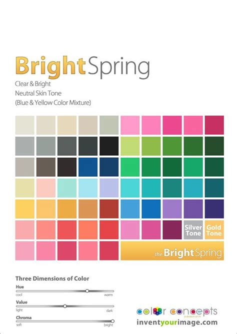 esse popular spring colors 66 best images about color analysis clear bright spring