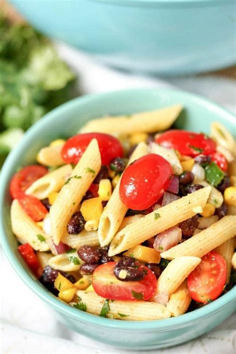 tex mex pasta salad tex mex pasta salad recipe a mom s take