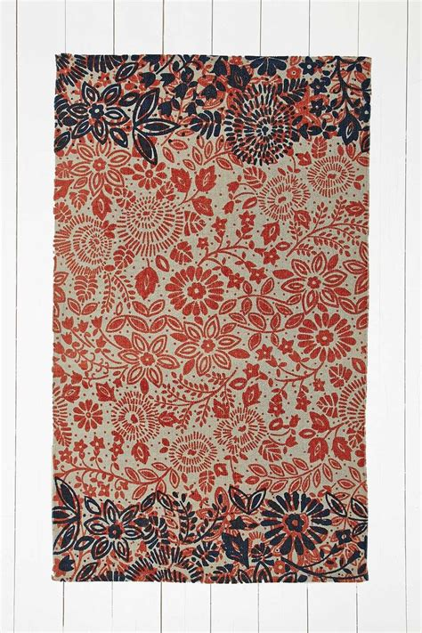 rugs outfitters annalise 3x5 rug in orange outfitters 3x5 rugs and grey