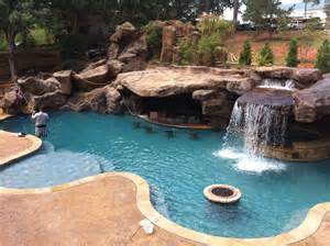 Pictures Of Backyards With Pools Backyard Oasis Pools