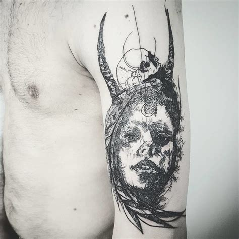 sensational and spectacular sketchy tattoos bored art