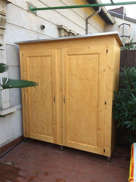 armadi da esterno su misura letti e armadi in legno su misura fadini mobili cerea verona