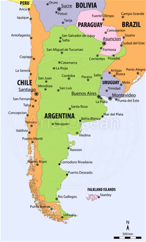 argentina political map outline of argentina the free encyclopedia
