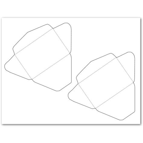 gift card size envelope template 5 free envelope templates for microsoft word