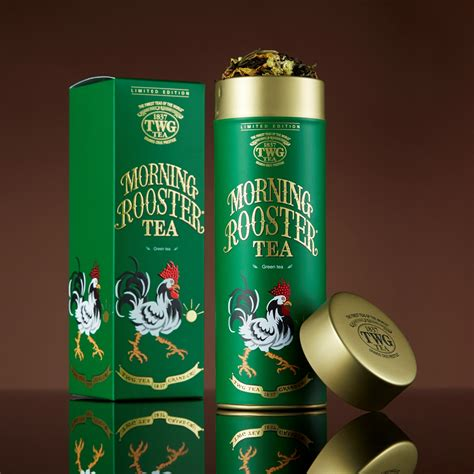 twg new year twg tea awakens a new year with the morning rooster tea