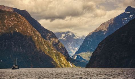 fjord in new zealand picture of the day the milford sound fjord in new zealand